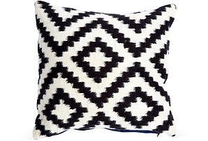 One Kings Lane- The Novogratz Black and White Pillow
