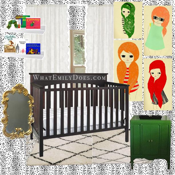 krm nursery mood board
