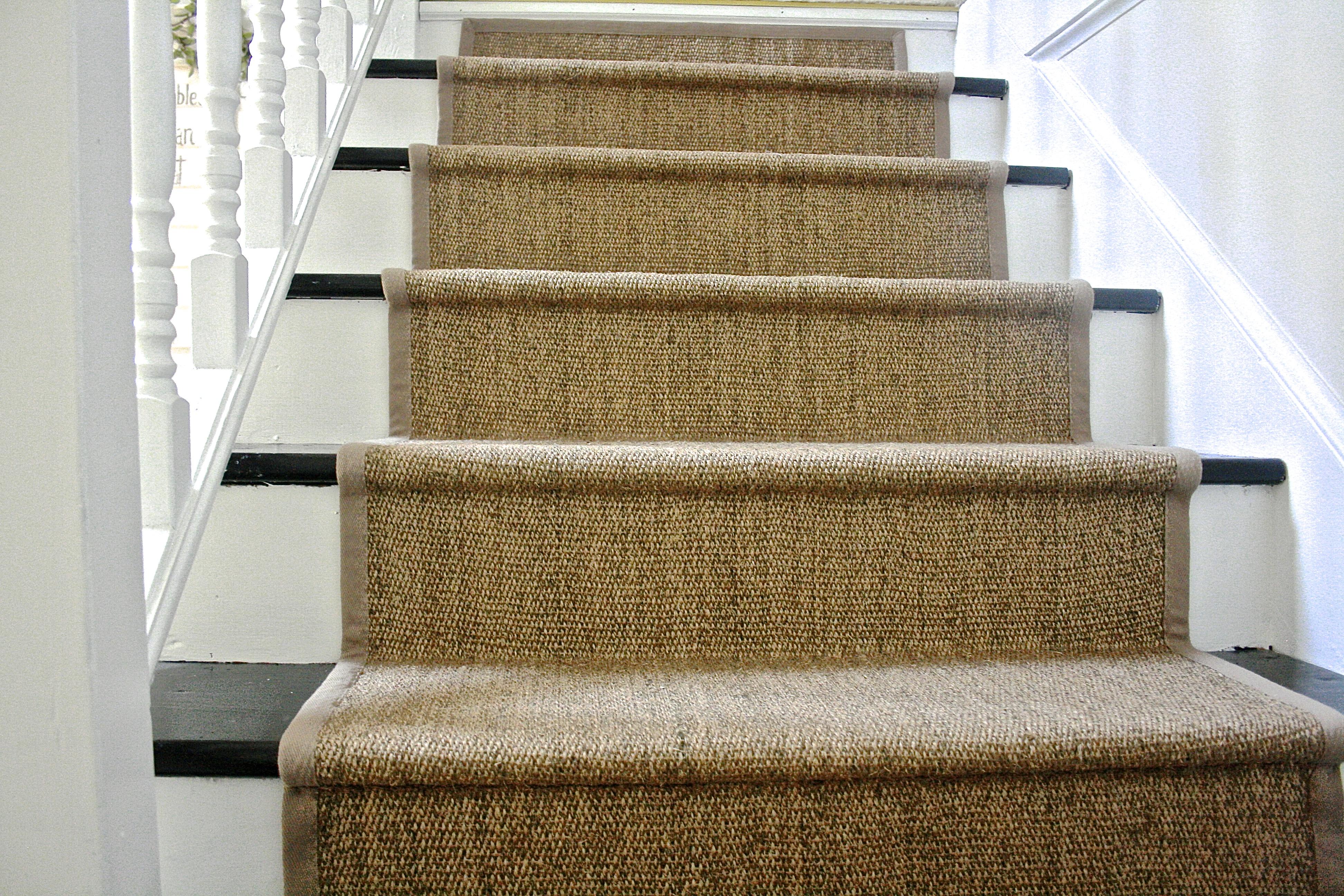 Diy Ikea Jute Rug Stair Runner