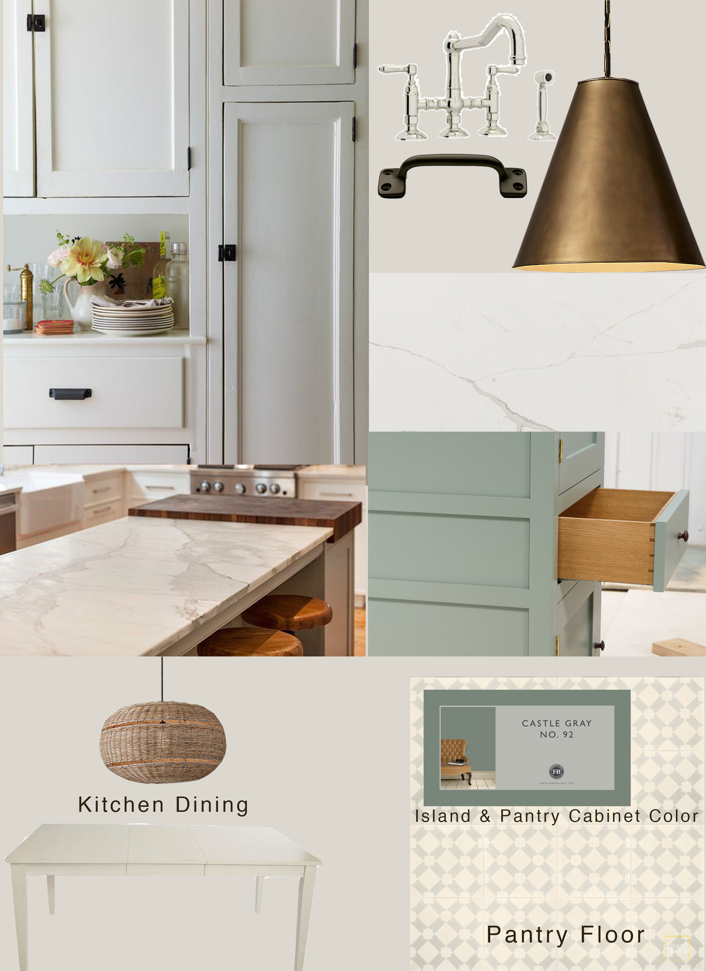 English Kitchen Moodboard - What Emily Does